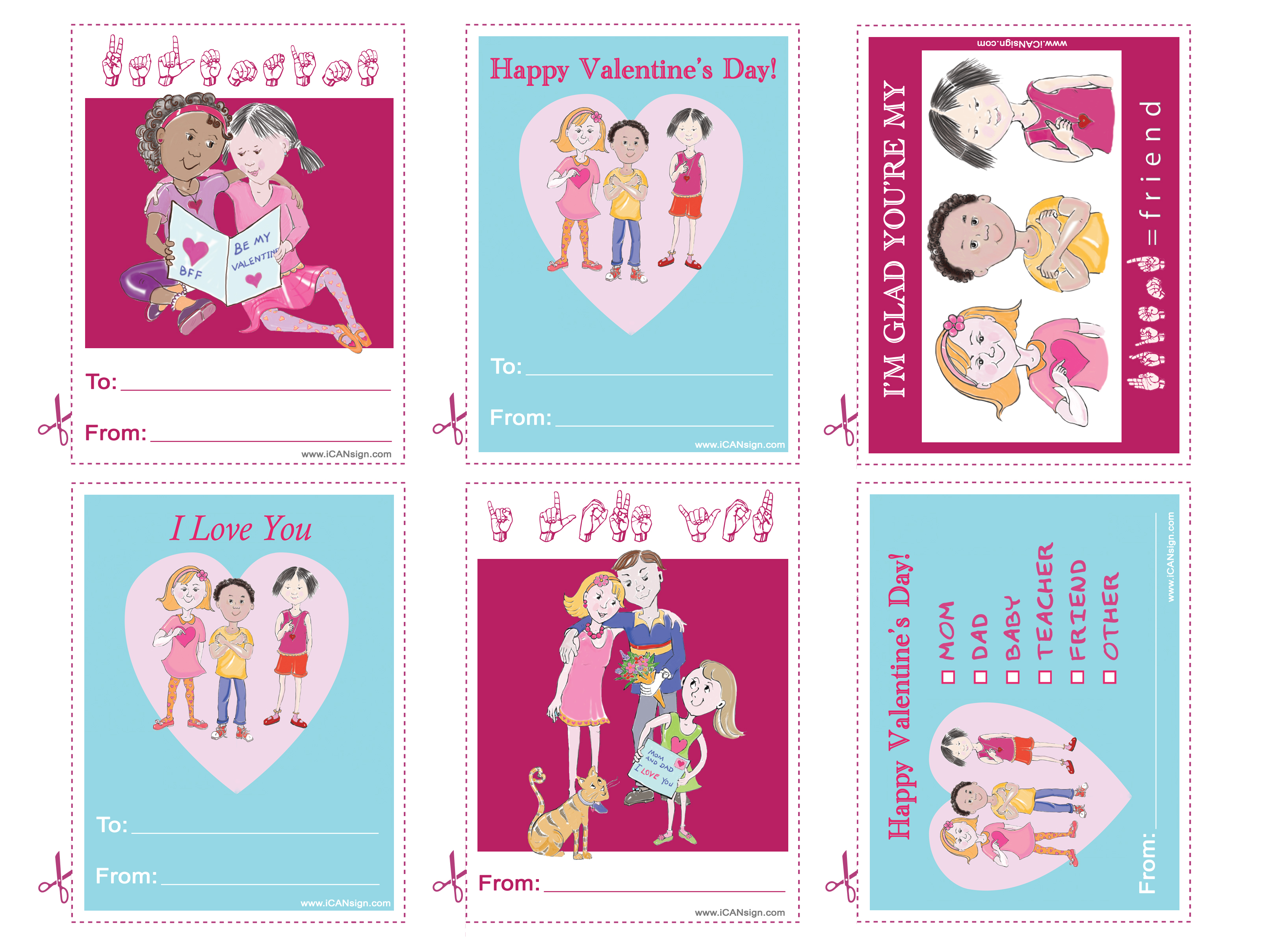 Free Valentines Day Printables – Valentines Day Card Free
