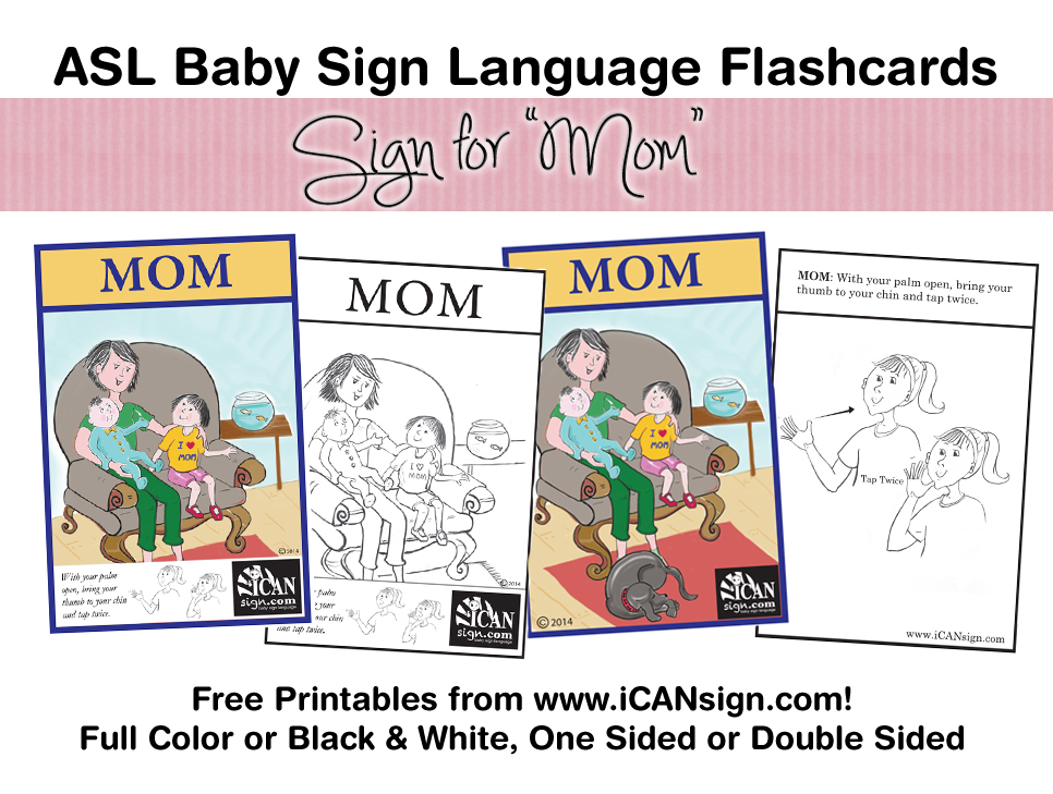 photograph relating to Baby Sign Language Flash Cards Printable named child signal language flashcard Kid Indication Language