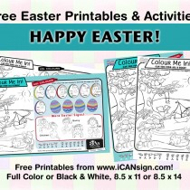 Free Easter Printables and Free Easter Activities