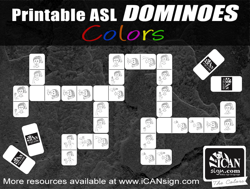 picture about Sign Language Colors Printable known as ASL Hues: Train your little one the hues with Signal Language