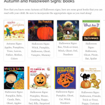 Great Halloween Books for Baby Sign Language