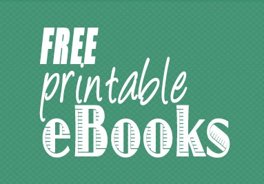 Free Printable eBooks for Kids